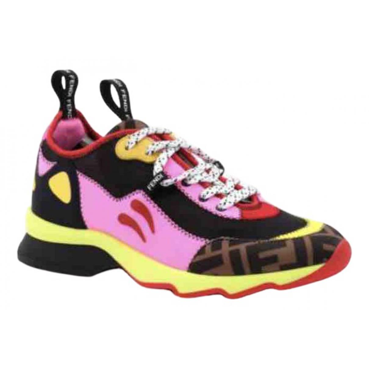 Fendi \N Multicolour Cloth Trainers for Women 36 IT