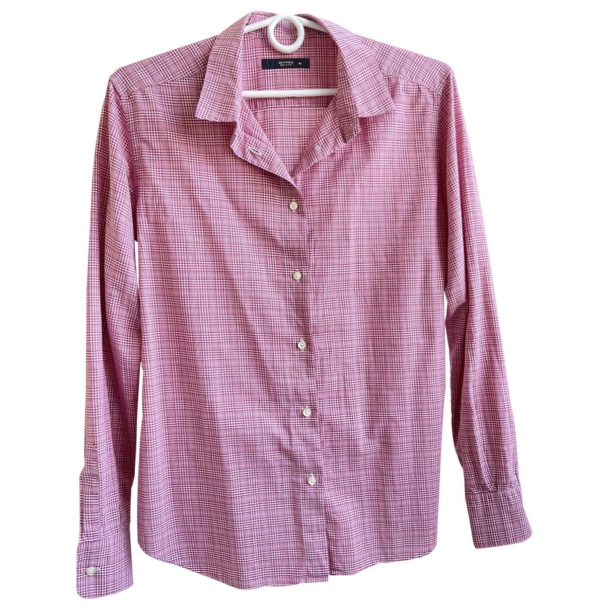 Etro - Top   pour femme en coton - rose
