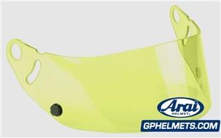 Arai GP-5W Yellow Shield Visor
