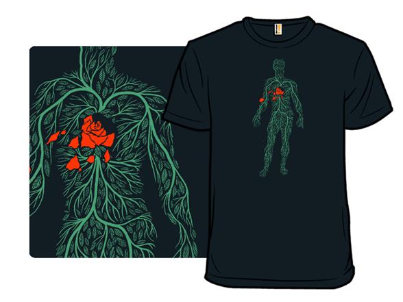 Autumn Heart T Shirt