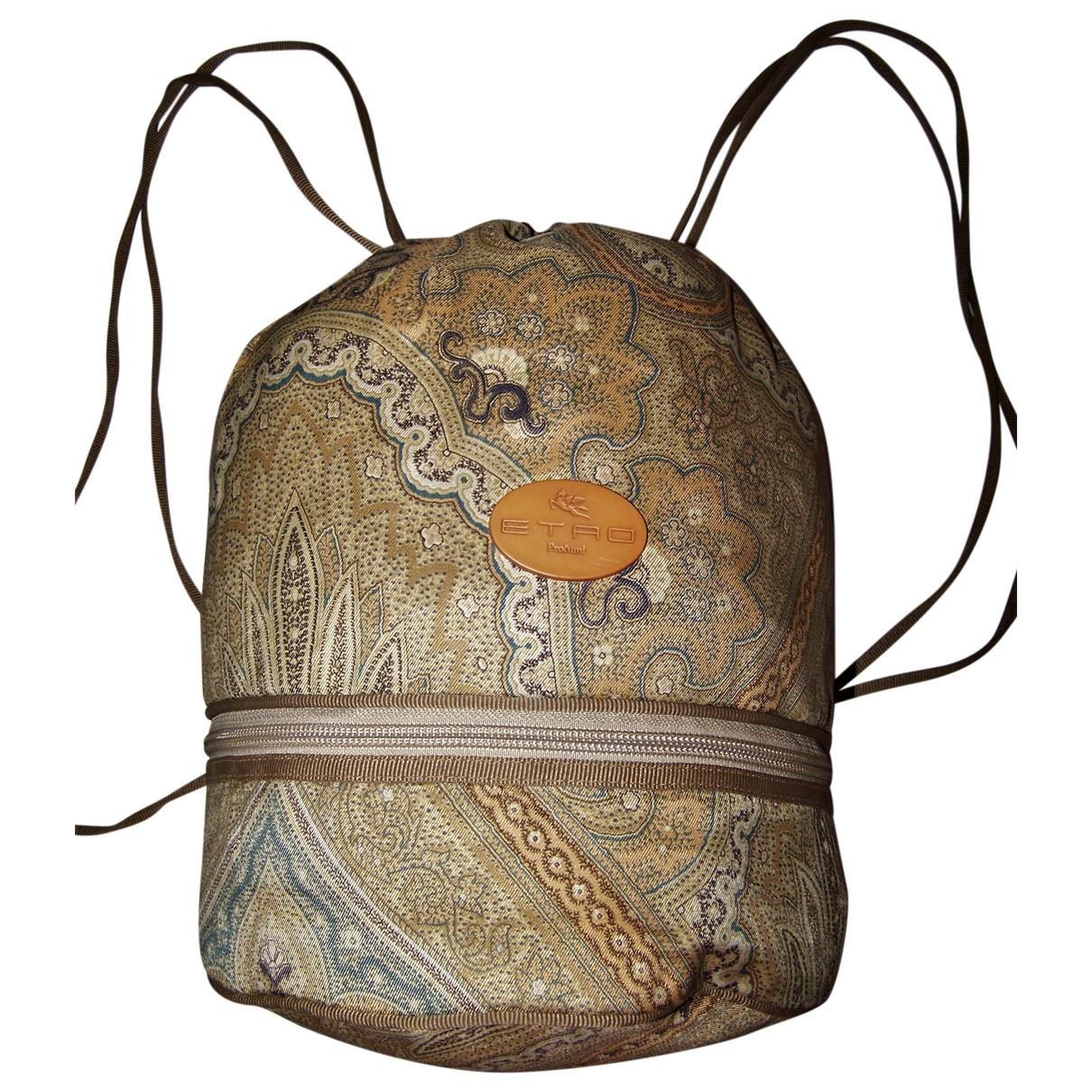 Etro N Beige Cloth handbag for Women N