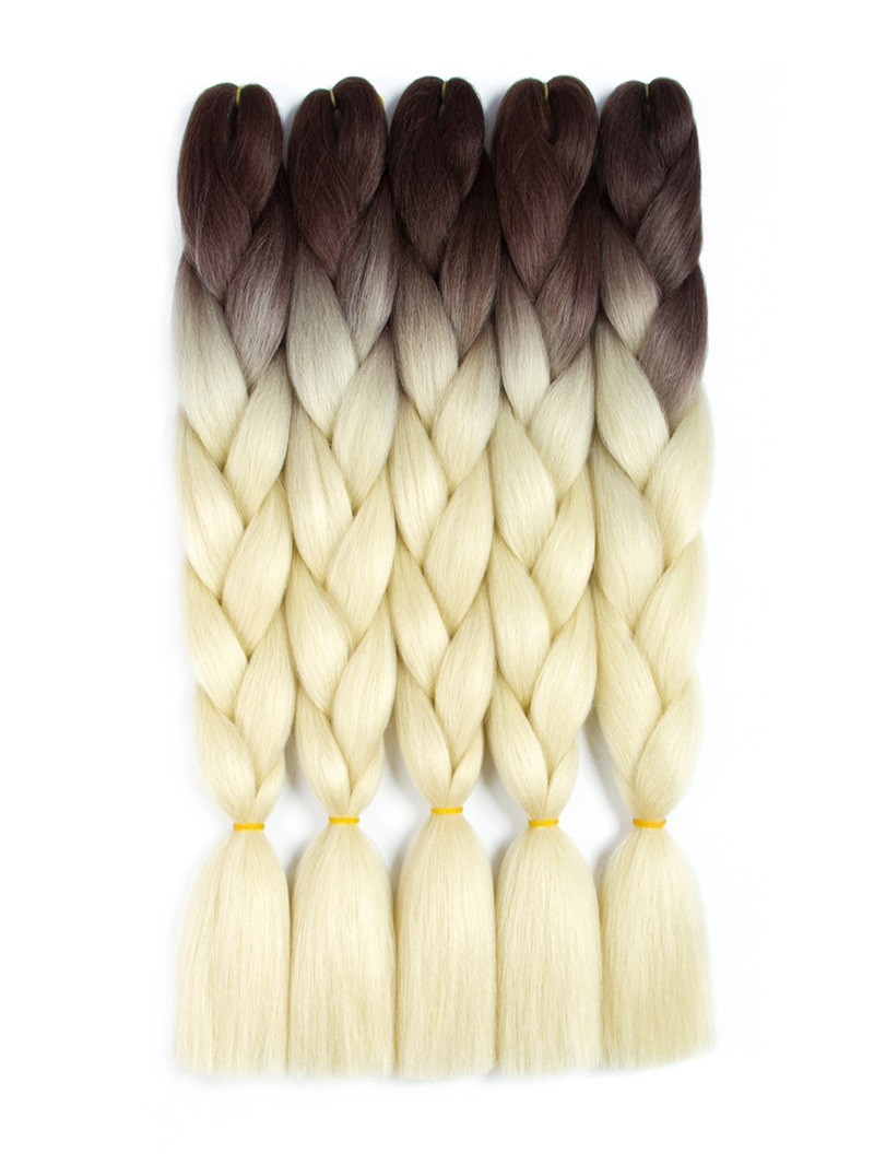 Ericdress Ombre Synthetic Kanekalon Braiding Hair Crochet Braids False Hair Extensions