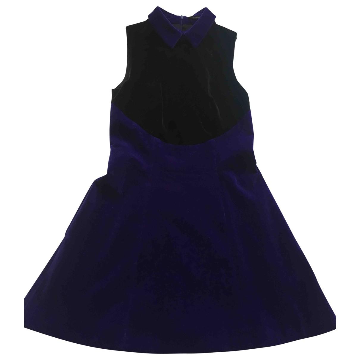 Christopher Kane \N Kleid in  Schwarz Samt