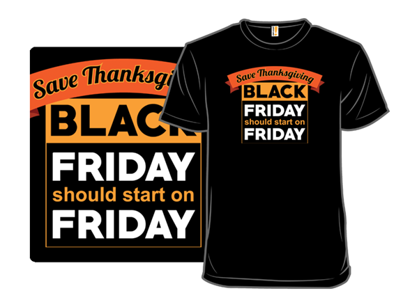 Save Thanksgiving T Shirt