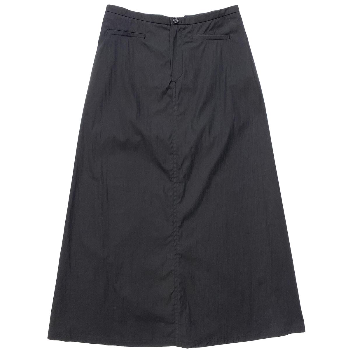 Jil Sander \N Black Cotton skirt for Women S International