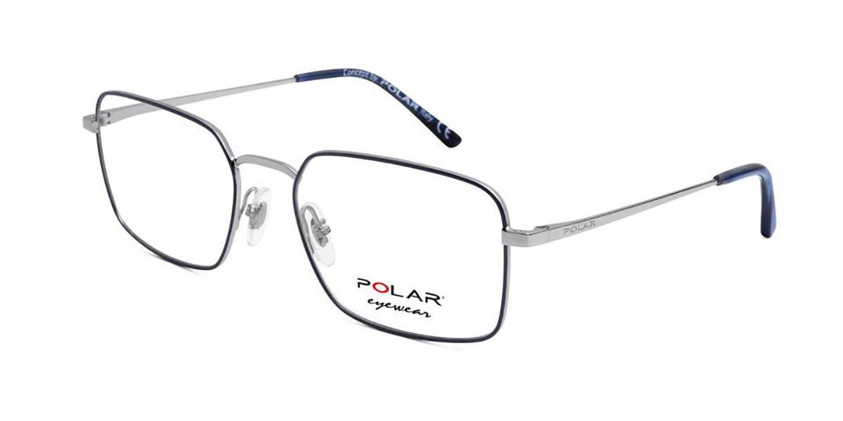 Polar PL 887 20 Mens Glasses Grey Size 53 - Free Lenses - HSA/FSA Insurance - Blue Light Block Available