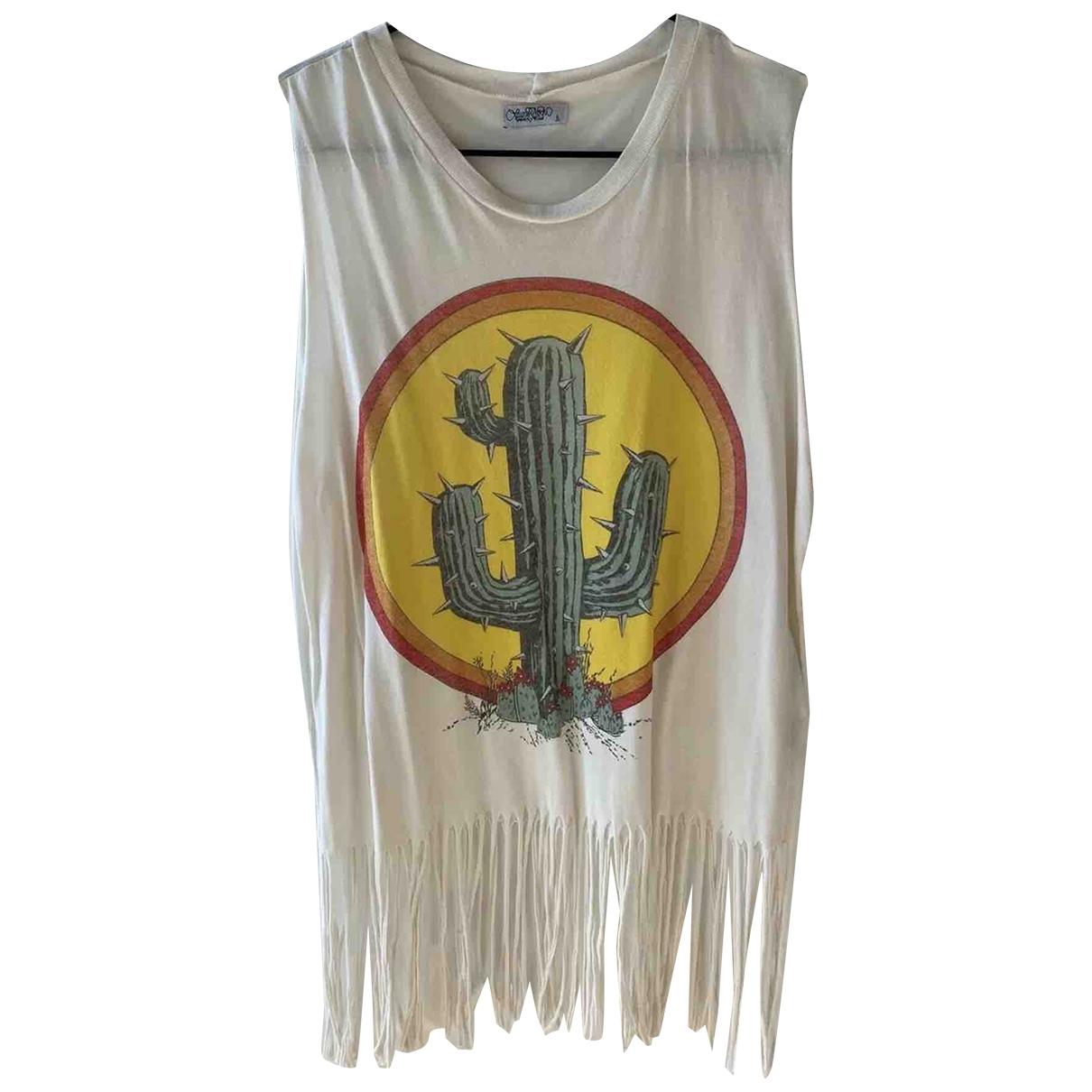 Camiseta sin mangas Hippie Chic Non Signe / Unsigned