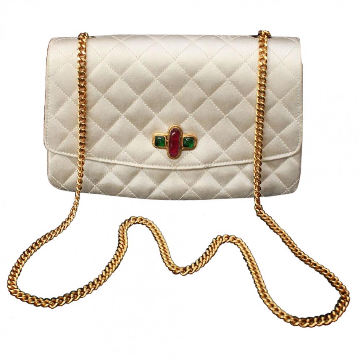 Chanel \N Handtasche in Seide