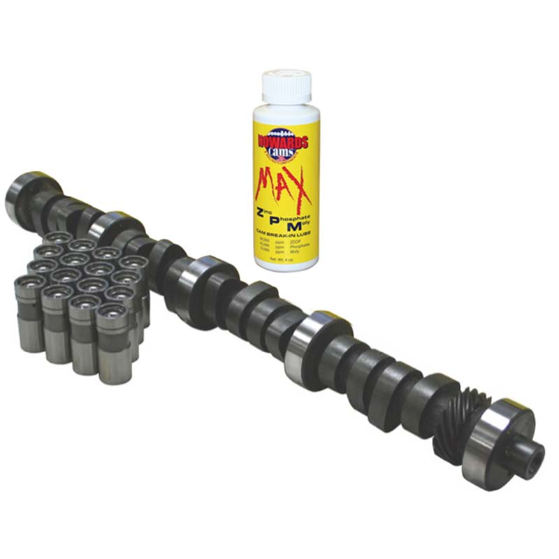 Hydraulic Flat Tappet Max Certified Camshaft; 1963 - 1995 Ford 221-302 2500 to 6200 Howards Cams MC210041-12 MC210041-12