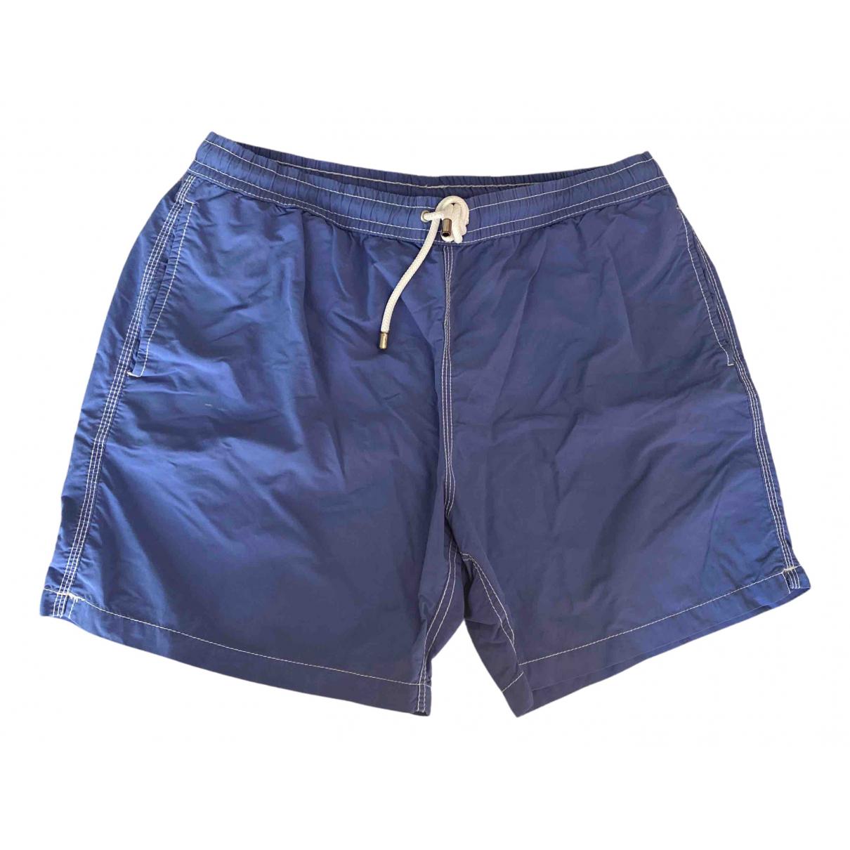 Hartford \N Badeanzug in  Blau Baumwolle - Elasthan