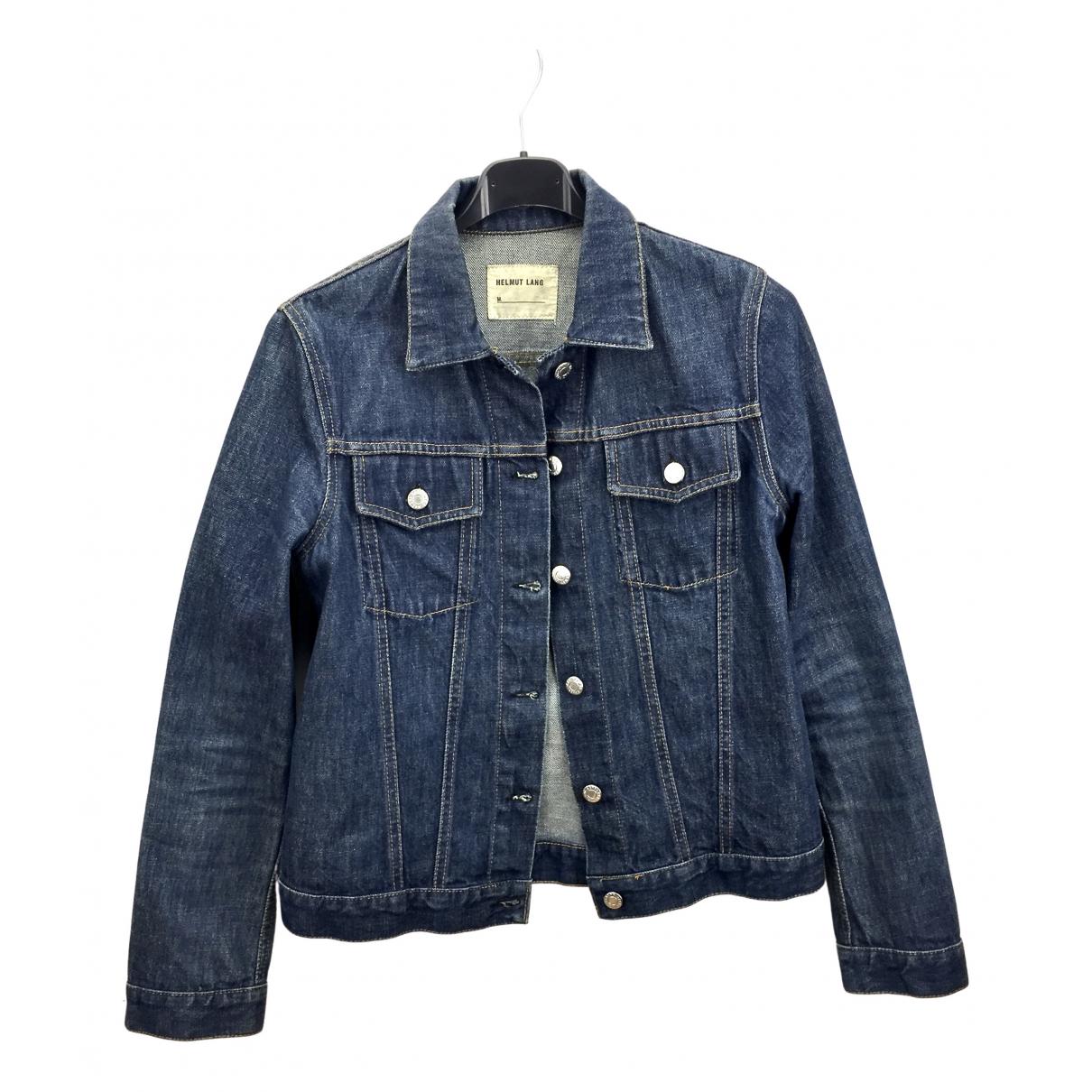 Helmut Lang N Blue Denim - Jeans jacket for Women M International