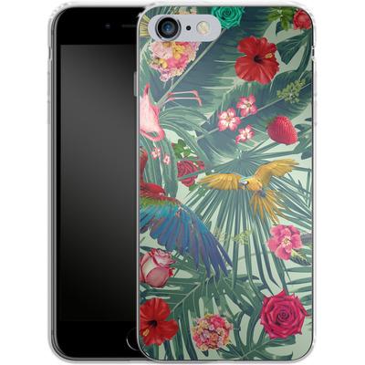 Apple iPhone 6s Plus Silikon Handyhuelle - Tropic Fun von Mark Ashkenazi