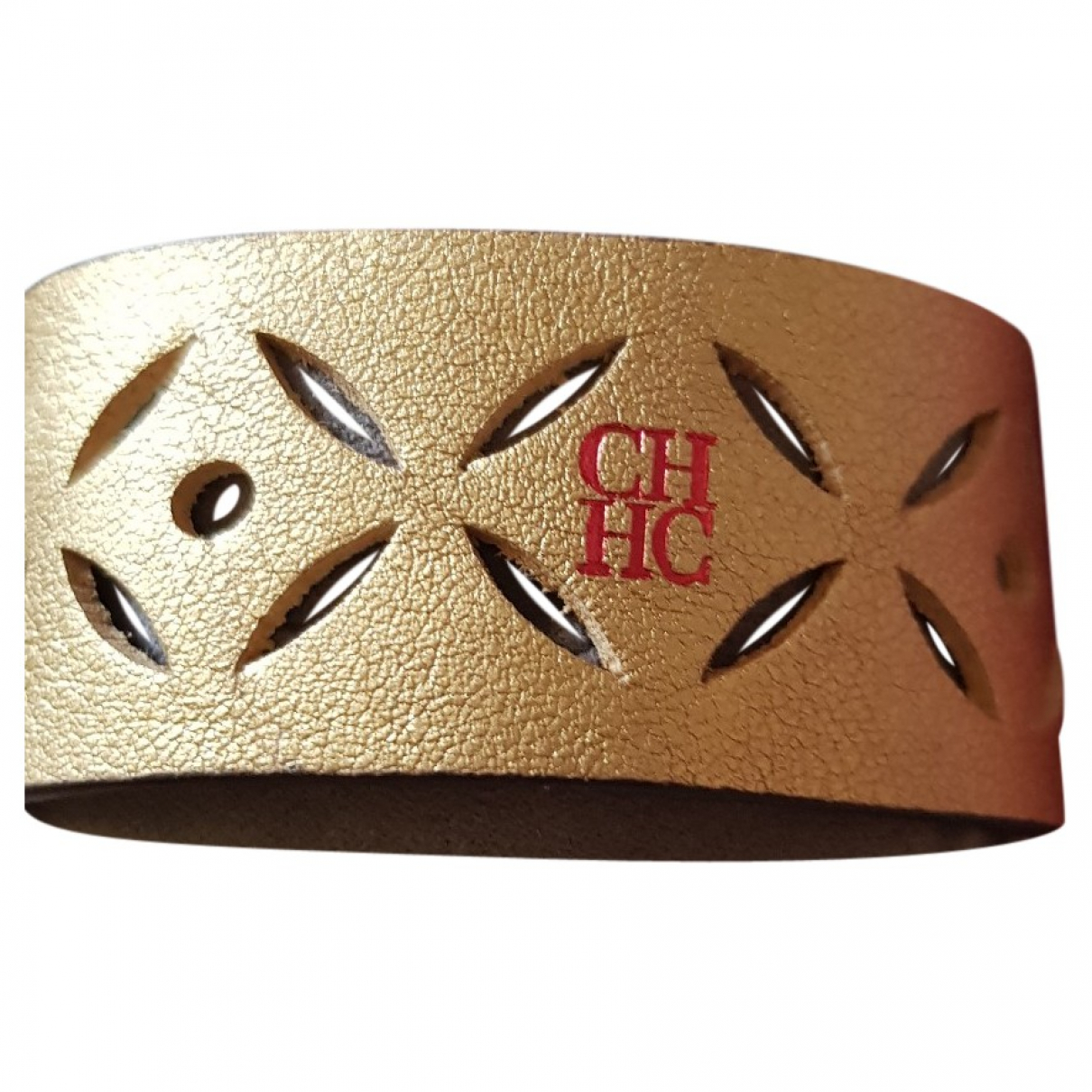 Carolina Herrera \N Armband in  Gold Leder