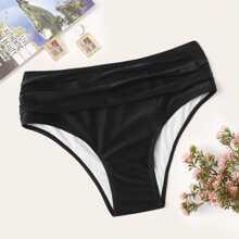 Reine Schwimmen Unterhose mit Falten