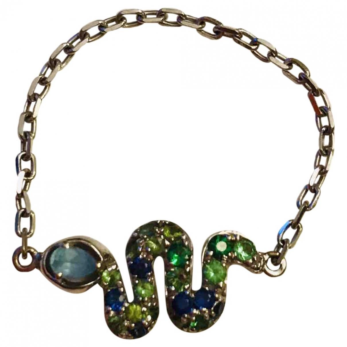 Djula \N Green White gold ring for Women 52 MM