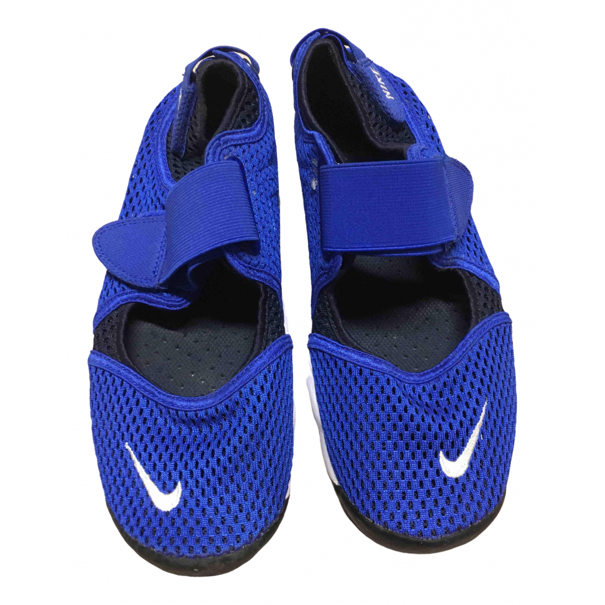 Nike \N Blue Cloth Trainers for Women 38.5 EU