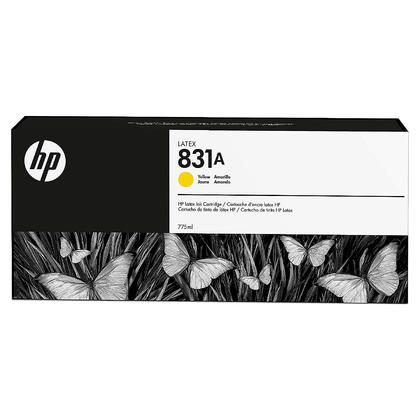 HP 831A CZ685A cartouche d'encre latex jaune originale 775ml