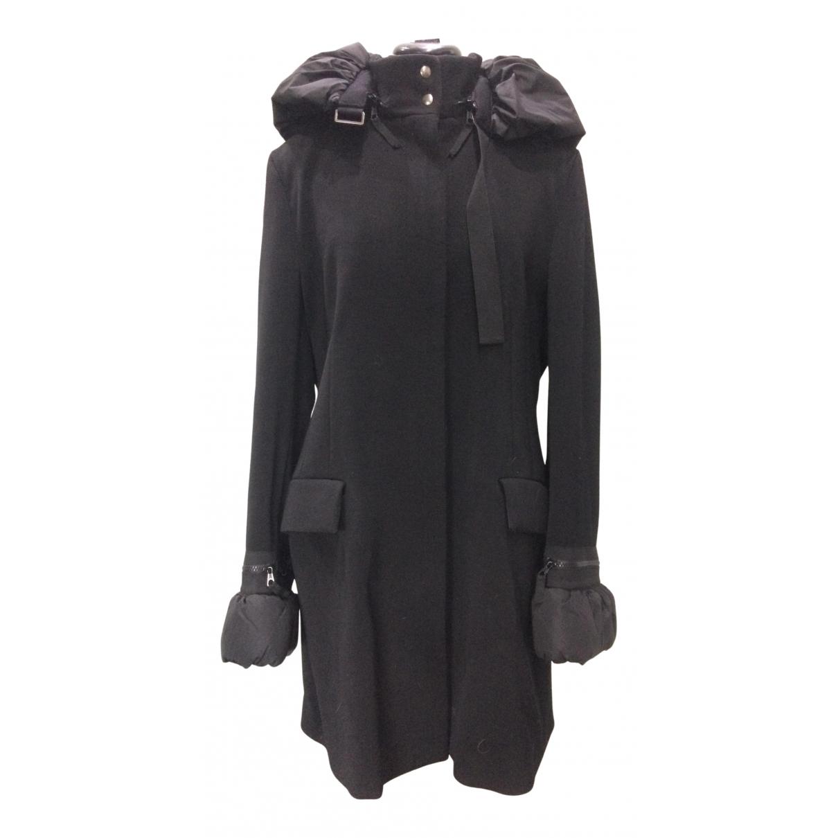 Viktor & Rolf - Manteau   pour femme en laine - noir
