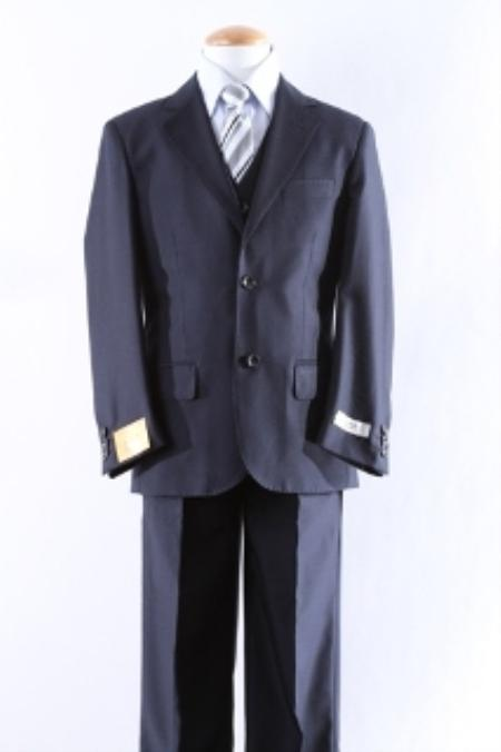 Two Button 5 Pcs Boy Dress Suit Set Size From Baby to Teen