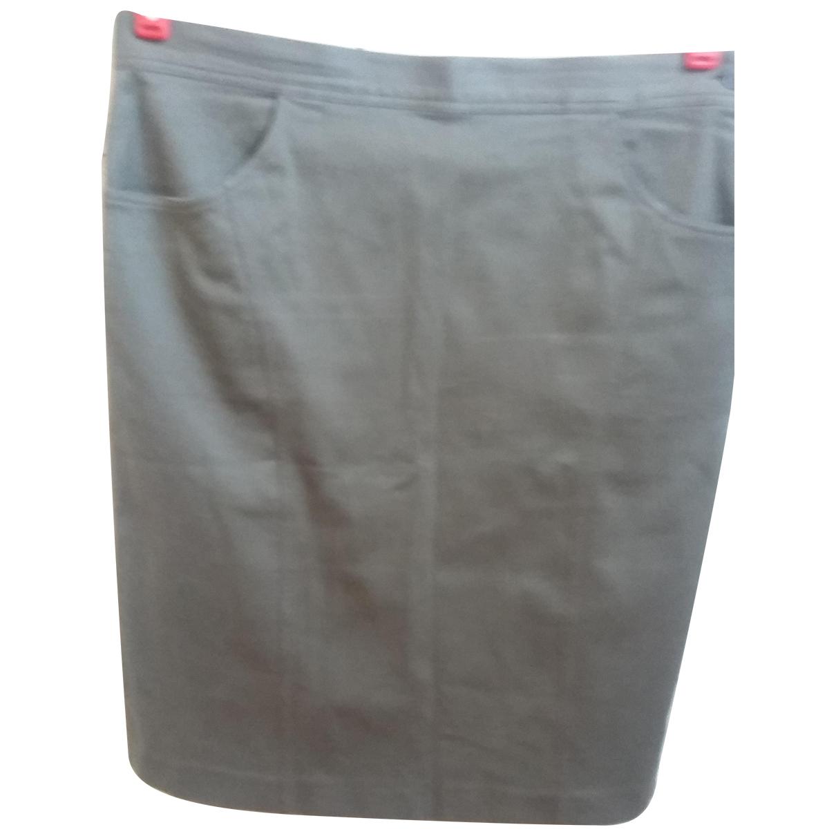 Gilmar - Jupe   pour femme en coton - vert