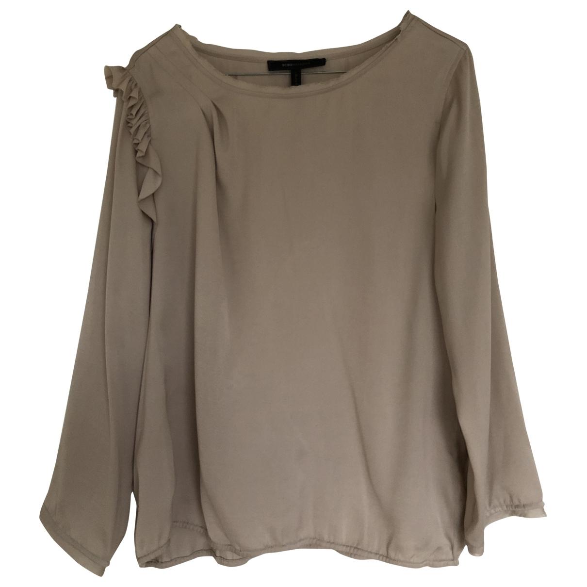 Bcbg Max Azria \N Beige Silk  top for Women M International