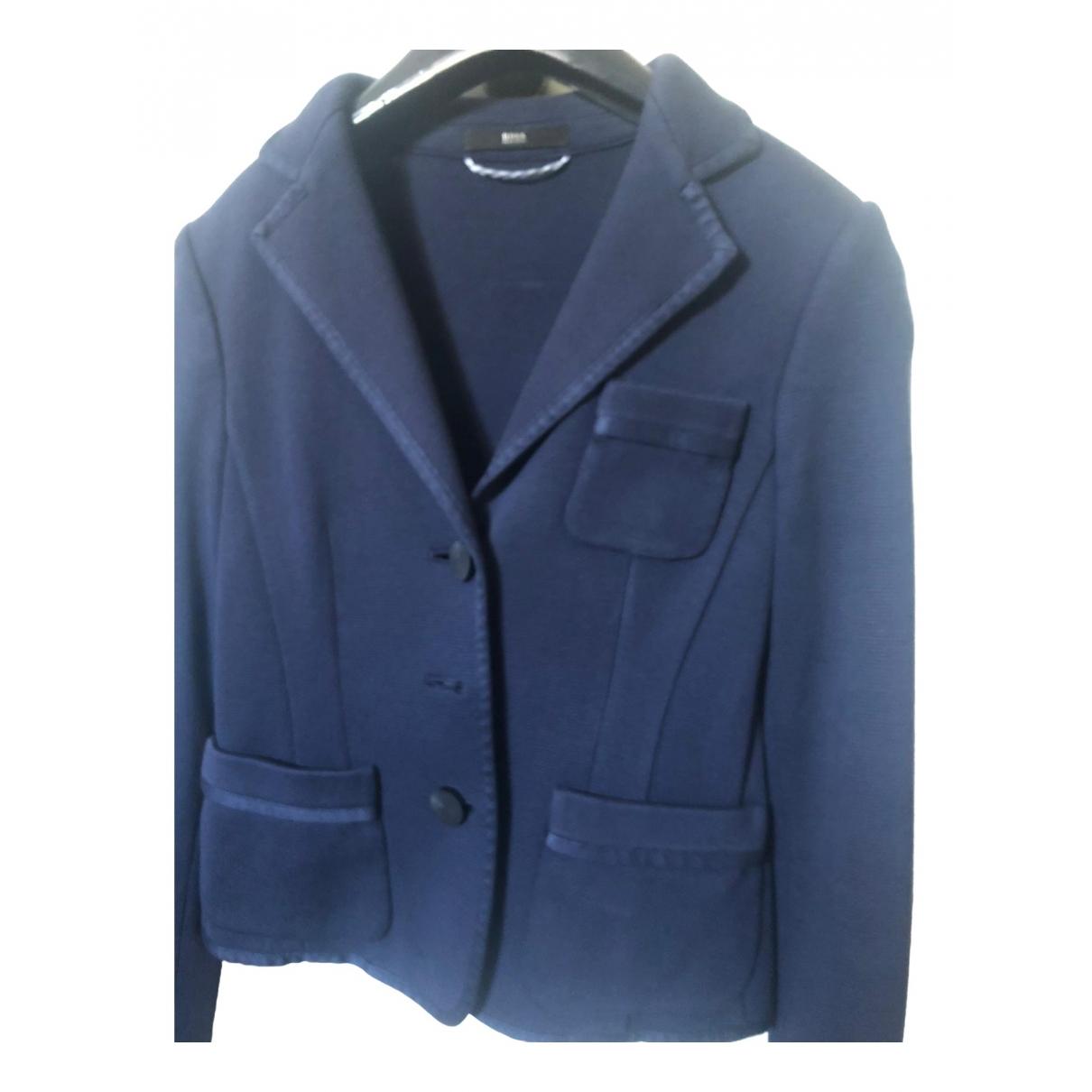 Boss \N Blue Cotton jacket for Women 36 FR