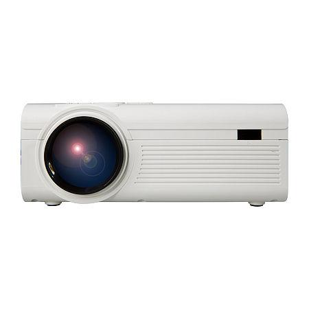 GPX PJ308W 1080p Mini Projector, One Size , White