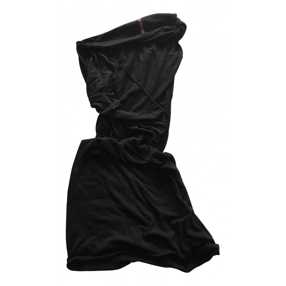 Rick Owens Lilies - Robe   pour femme en coton - noir