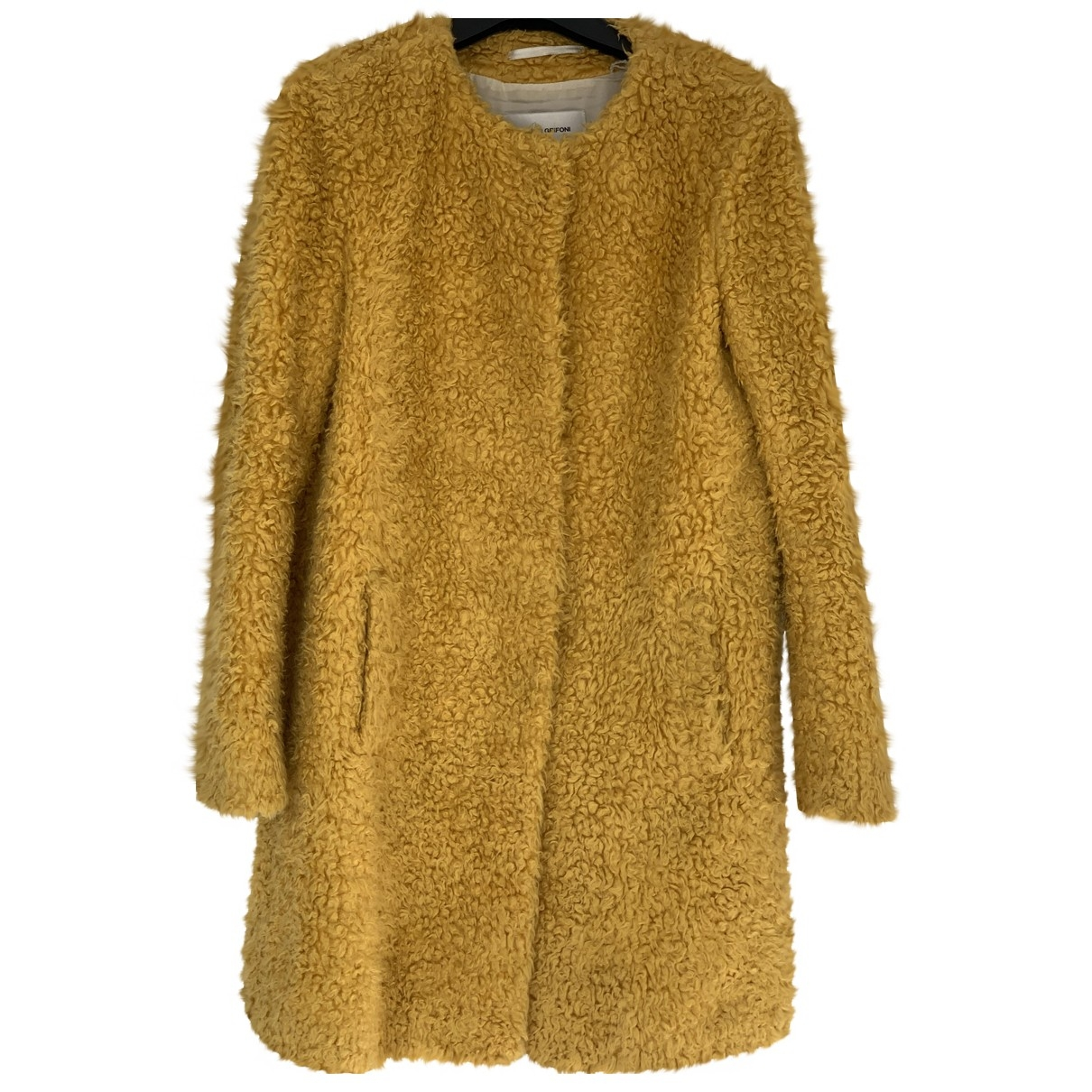 Mauro Grifoni \N Yellow coat for Women 40 IT