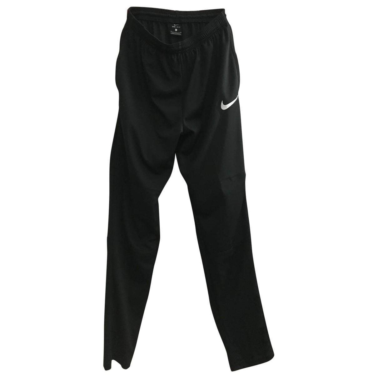 Nike \N Black Trousers for Men 44 IT