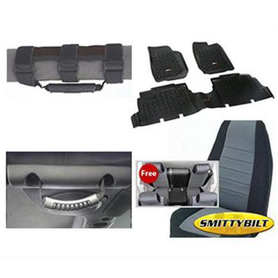Genuine Packages Interior Pack (Black/Gray) - 08124DBG