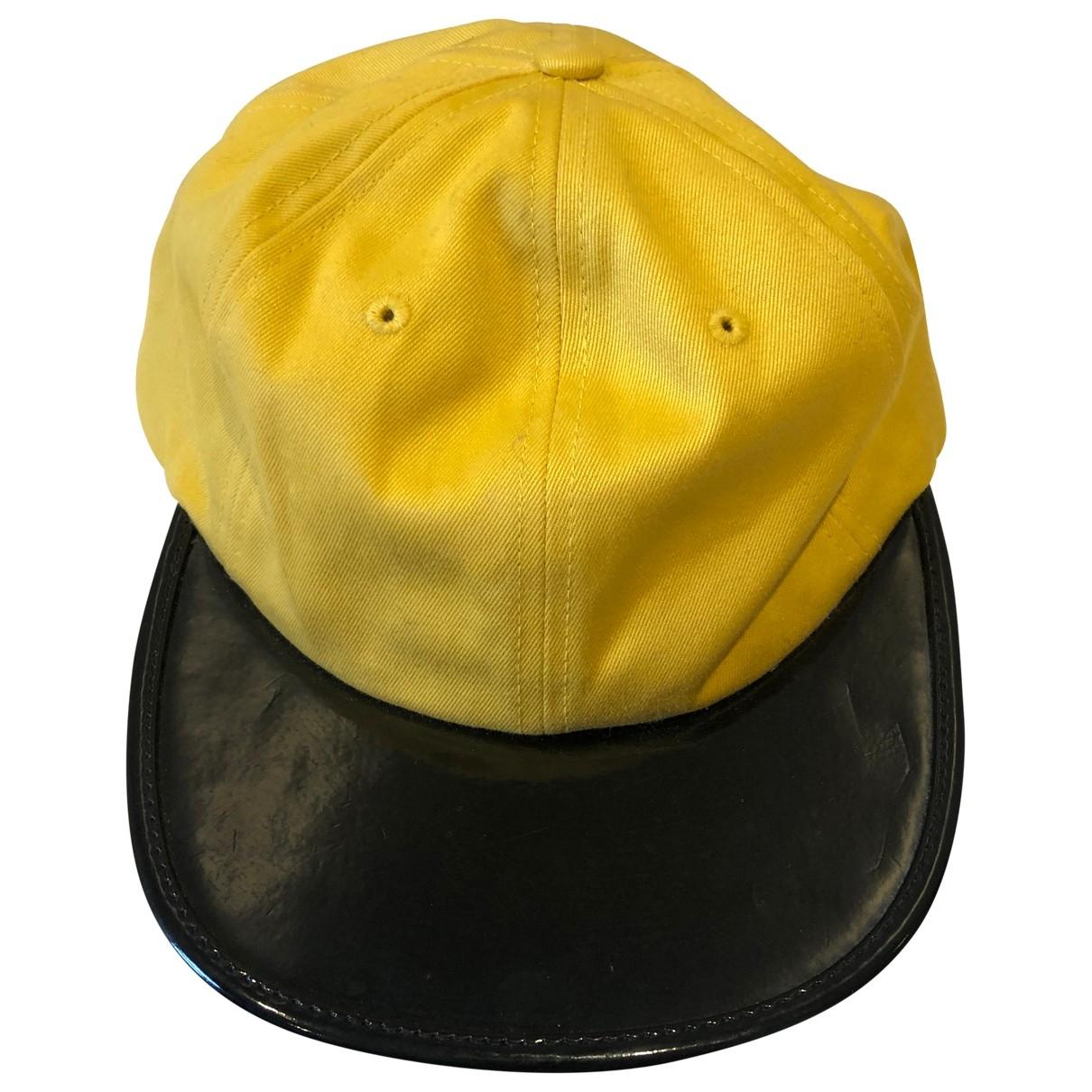 Supreme - Chapeau   pour femme - jaune