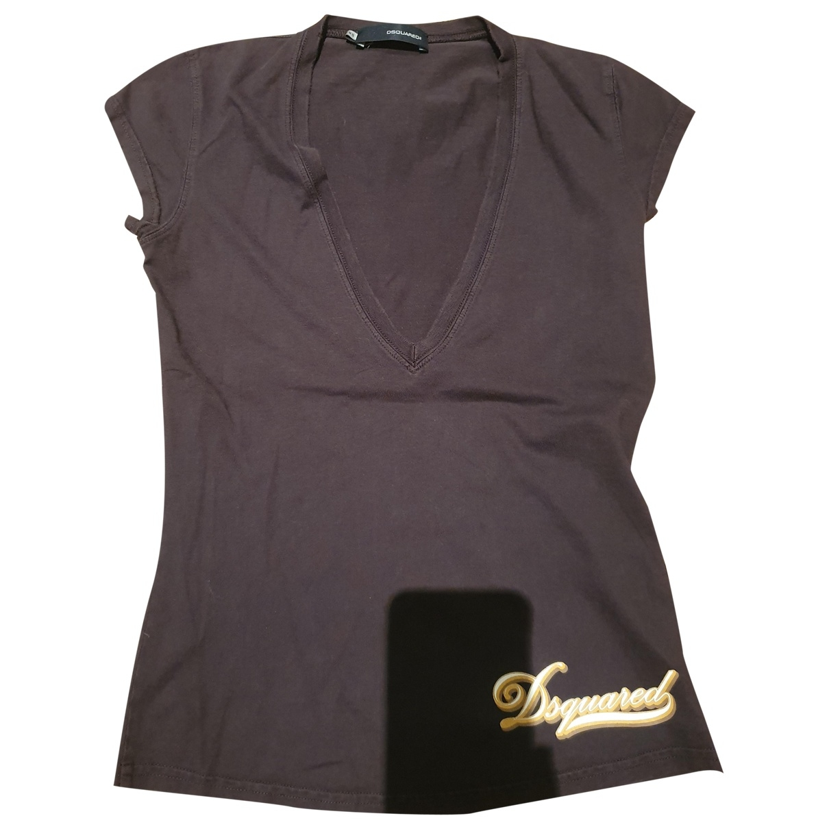 Dsquared2 \N Top in  Braun Baumwolle