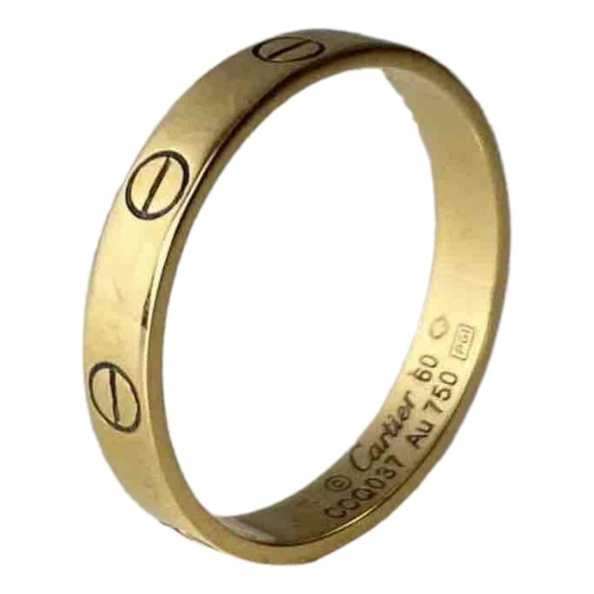 Anillo Love de Oro amarillo Cartier