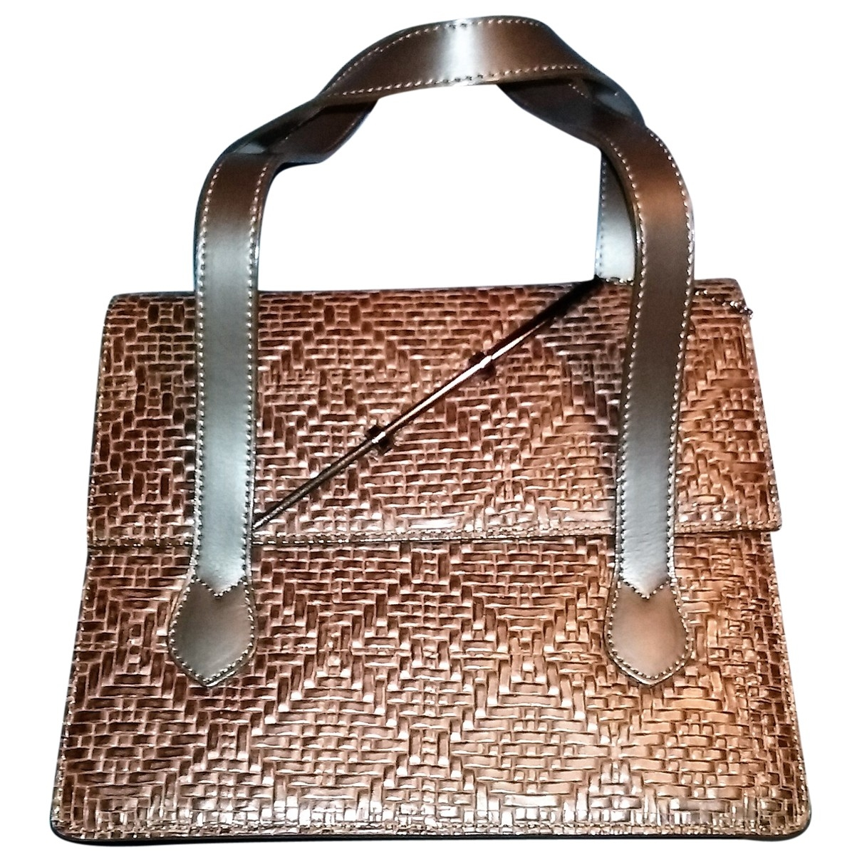 Kenzo \N Brown Leather handbag for Women \N