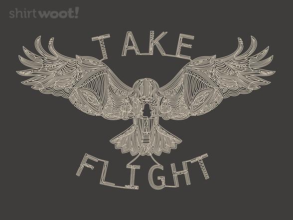 Eagle Takes Flight T Shirt