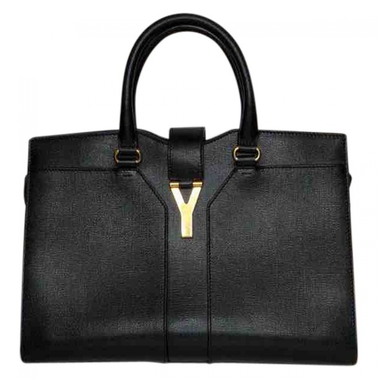 Yves Saint Laurent Chyc Black Leather handbag for Women \N