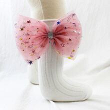 Baby Socken mit Schleife Dekor