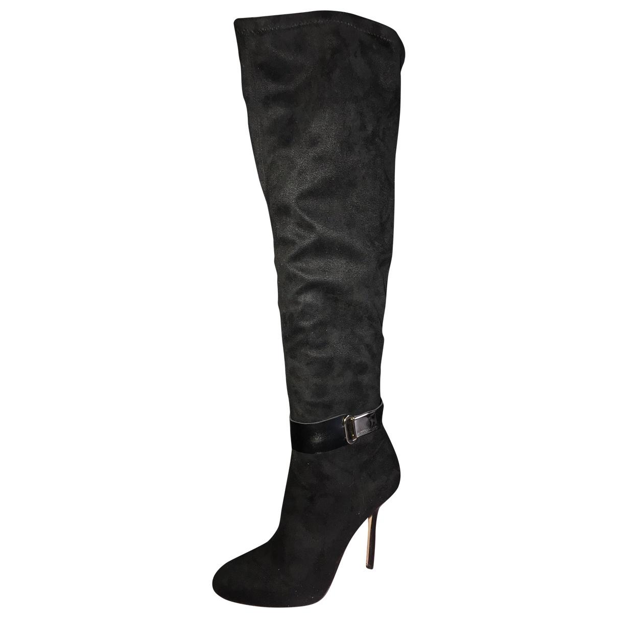 Gianni Marra \N Black Suede Boots for Women 36 EU