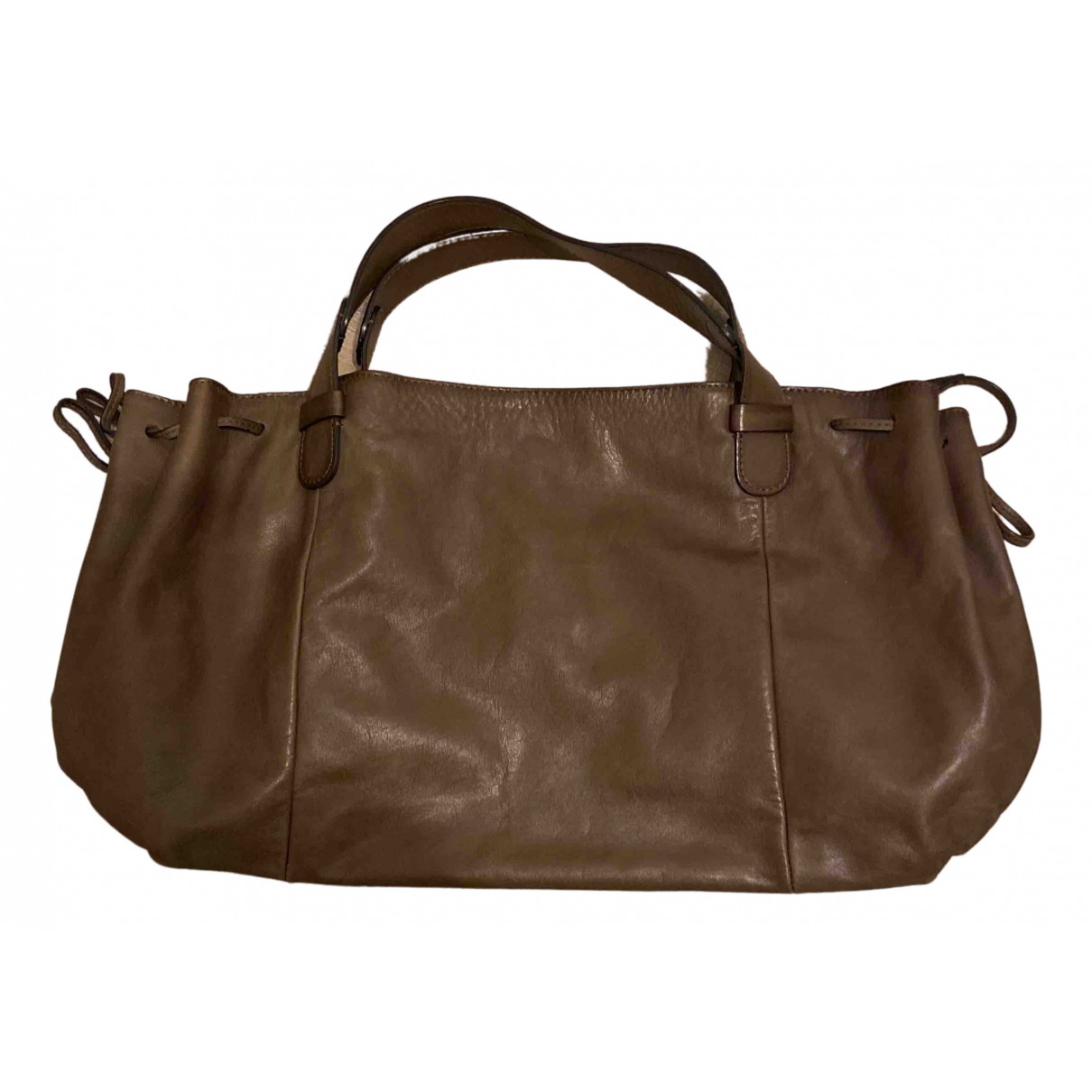 Gerard Darel 24h Brown Leather handbag for Women N
