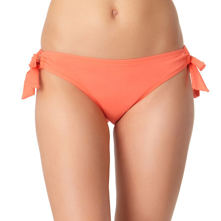 a.n.a Hipster Bikini Swimsuit Bottom, Large , Orange