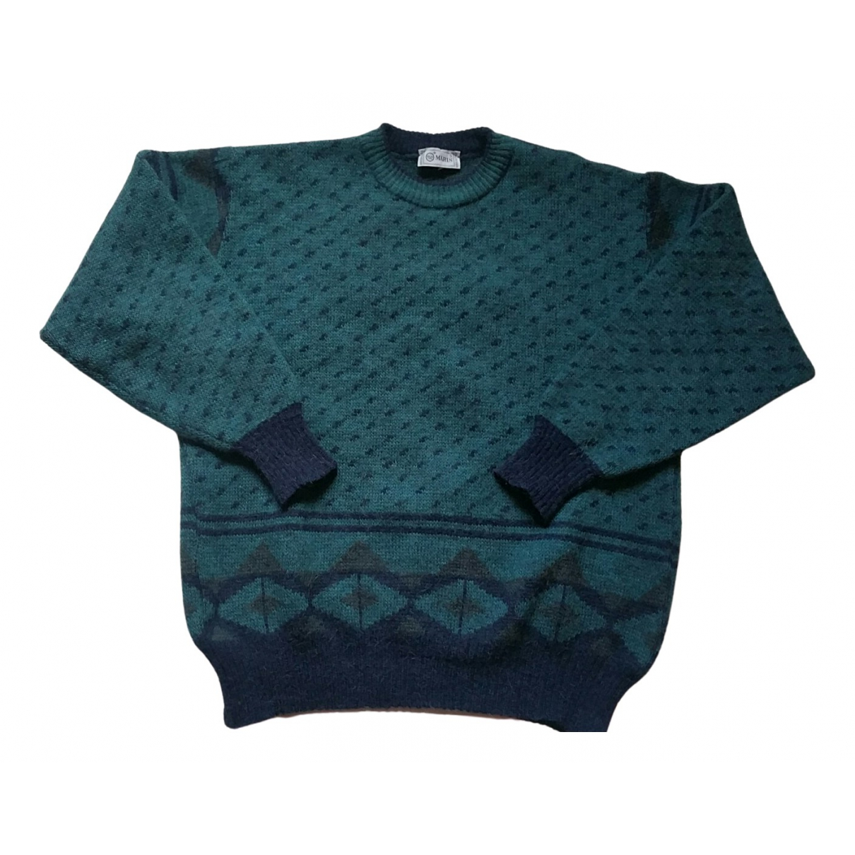 Non Signe / Unsigned Oversize Pullover.Westen.Sweatshirts  in  Bunt Wolle