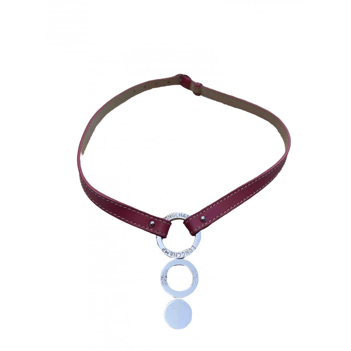 Longchamp \N Silver Metal necklace for Women \N