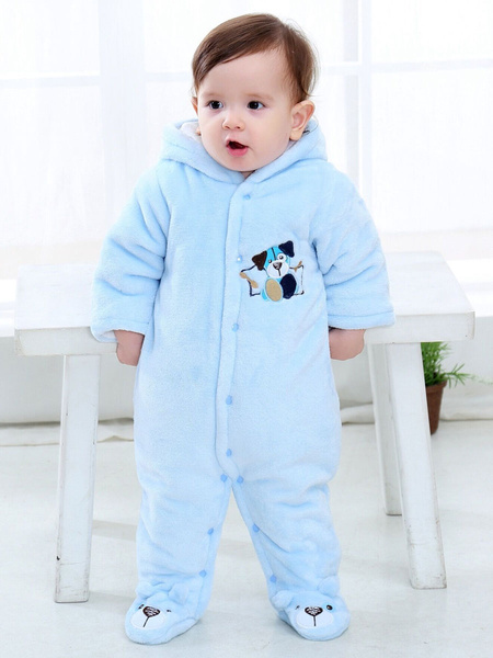 Milanoo Kigurumi Onesie Pajamas Baby Toddler Flannel Jumpsuit