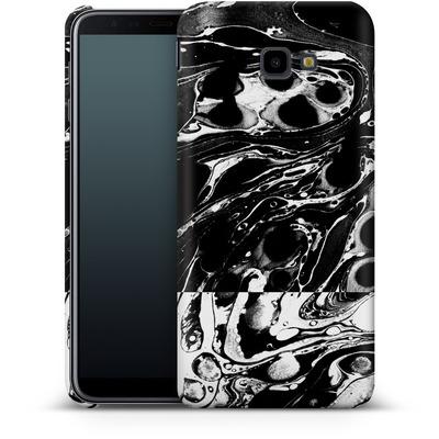 Samsung Galaxy J4 Plus Smartphone Huelle - Marble Reverse von Amy Sia