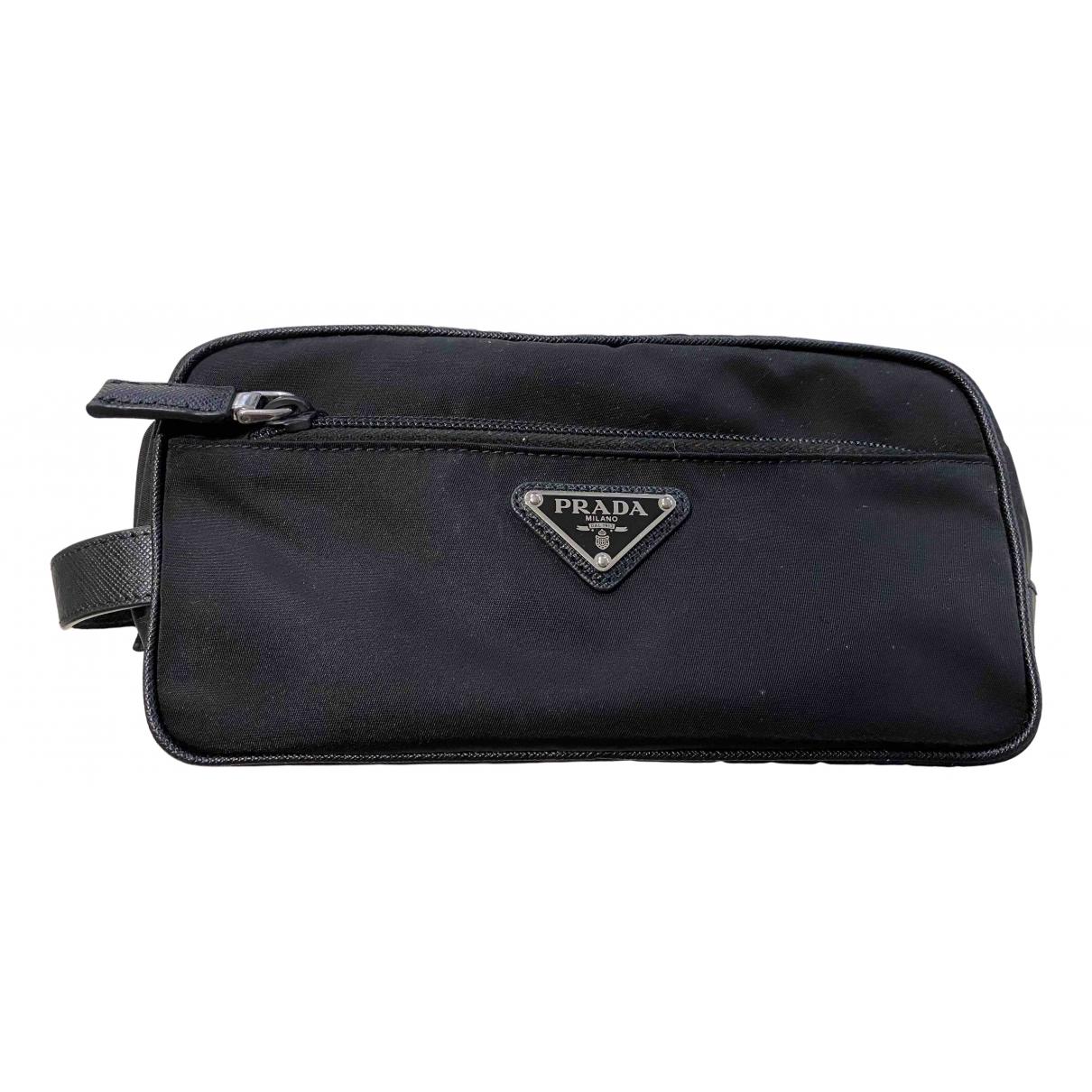 Prada \N Black Small bag, wallet & cases for Men \N