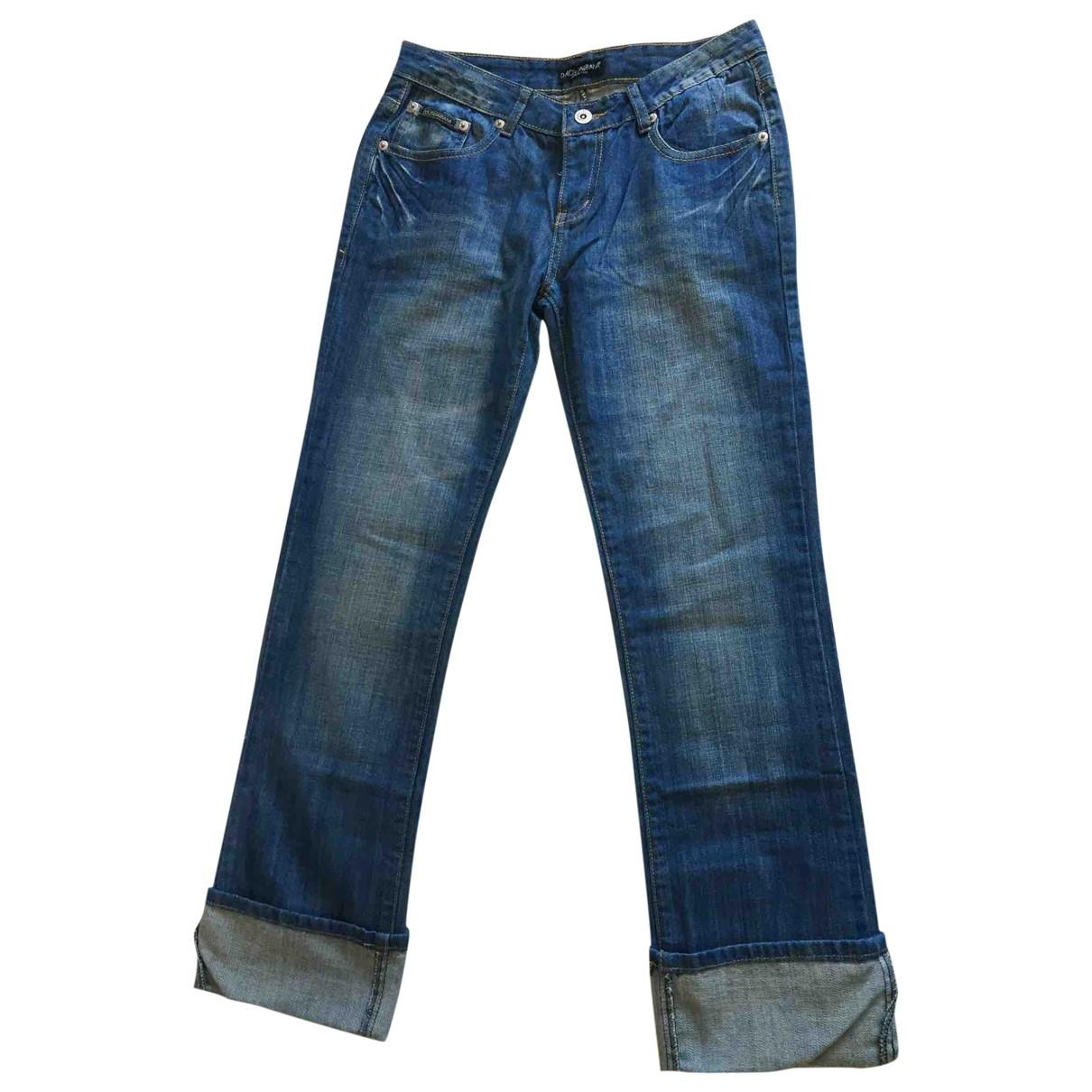 D&g \N Blue Cotton Jeans for Women 28 US
