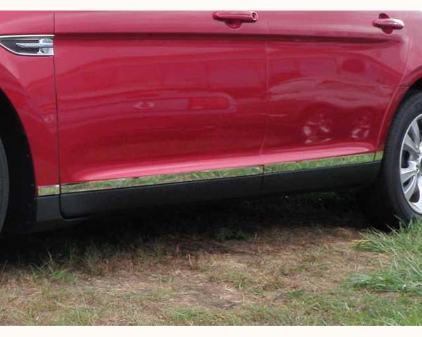 Quality Automotive Accessories 8-Piece Rocker Panel Accent Trim Kit Ford Taurus 2011