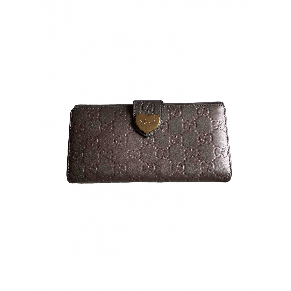 Gucci Continental Portemonnaie in  Rosa Leder