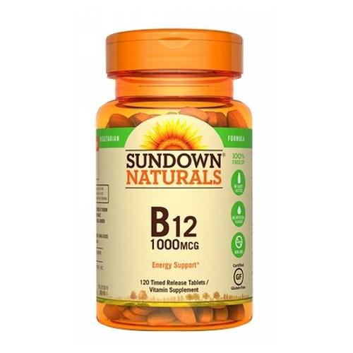 Vitamin B-12 12 X 120 Tabs by Sundown Naturals